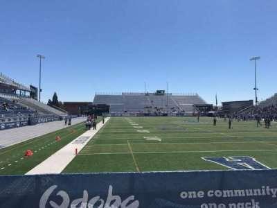 Mackay Stadium, section: One Student, row: 5, seat: Left