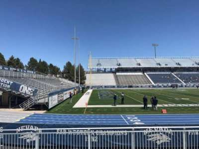 Mackay Stadium, section: G, row: 5, seat: 30