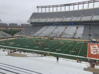 Texas Memorial Stadium, section: 26, row: 56, seat: 25