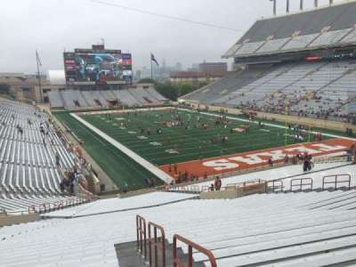 Texas Memorial Stadium, section: 18, row: 51, seat: 25
