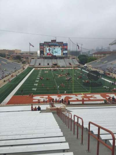 Texas Memorial Stadium, section: 17, row: 51, seat: 25