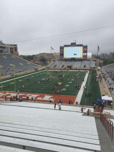 Texas Memorial Stadium, section: 15, row: 51, seat: 1