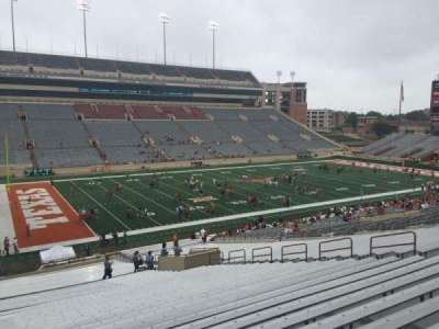 Texas Memorial Stadium, section: 9, row: 51, seat: 25
