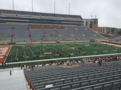 Texas Memorial Stadium, section: 8, row: 51, seat: 2