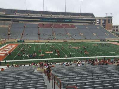 Texas Memorial Stadium, section: 7, row: 51, seat: 10