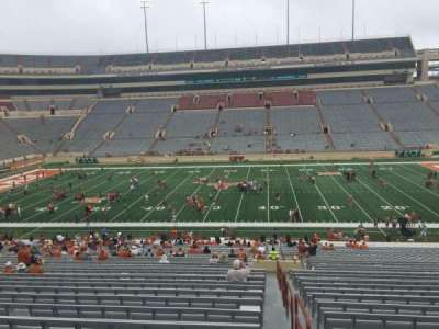 Texas Memorial Stadium, section: 5, row: 51, seat: 25