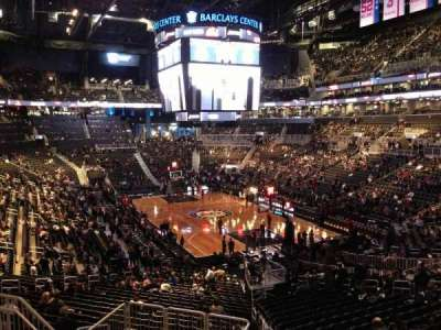 Barclays Center, section: 118, row: 7, seat: 7