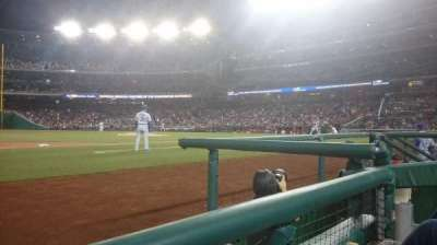 Nationals Park, section: 115, row: a, seat: 12