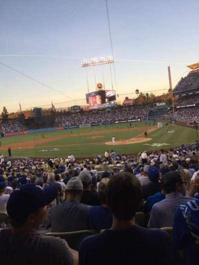 Dodger Stadium, section: 5FD, row: U, seat: 12