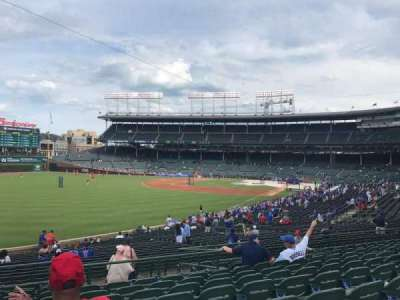 Wrigley Field section 203