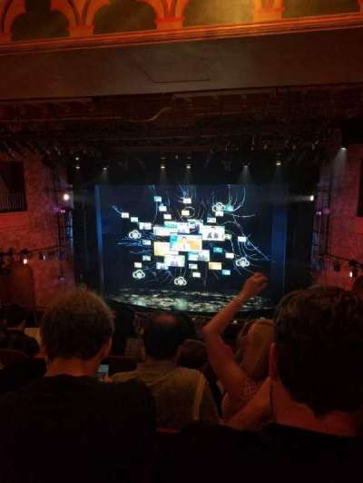 August Wilson Theatre, section: Mezzc, row: K, seat: 101