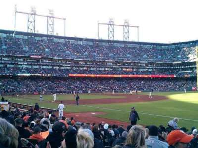 AT&T Park, section: 102, row: 15, seat: 13