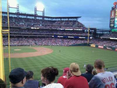 Citizens bank park  section 204