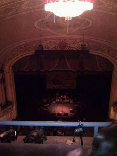 Merriam Theater, section: family circle , row: b, seat: 107