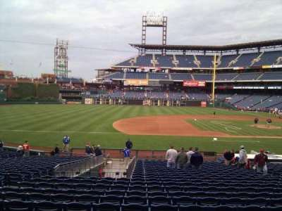 Citizens Bank Park, section: 132, row: 28, seat: 12