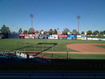 Cashman Field, section: 5, row: q, seat: 10