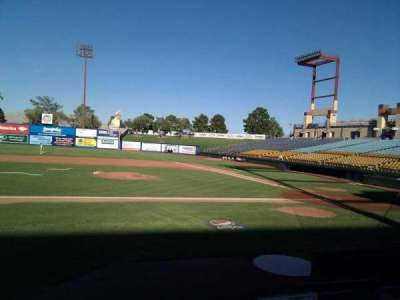 Cashman Field, section: 7, row: d, seat: 3