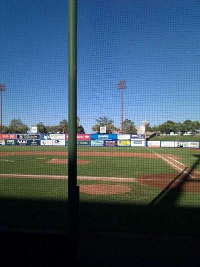 Cashman Field, section: 9, row: a, seat: 8