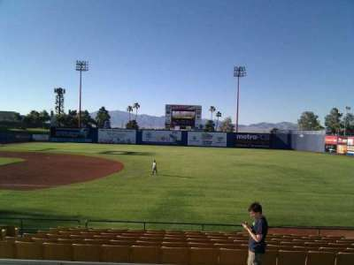 Cashman Field, section: 19, row: o, seat: 9