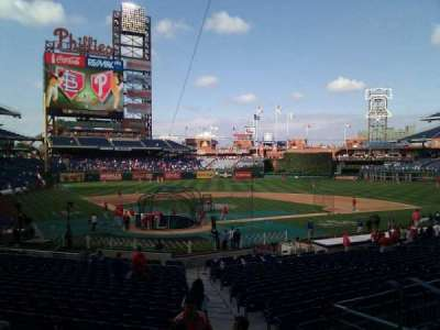 Citizens Bank Park, section: 122, row: 27, seat: 2