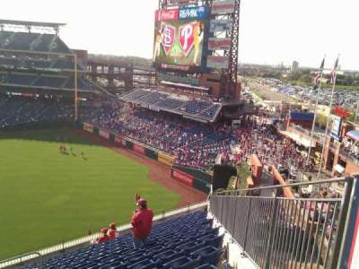 Citizens Bank Park, section: 301, row: 14, seat: 24