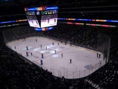 American Airlines Center, section: 320, row: b, seat: 15