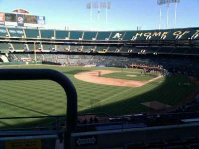 Oakland Alameda Coliseum section 230