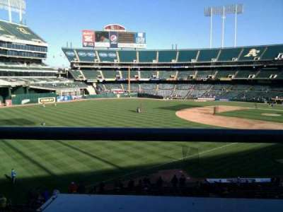 Oakland Alameda Coliseum, section: 229, row: 1, seat: 16