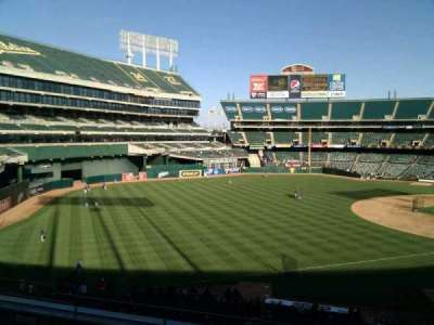 Oakland Alameda Coliseum, section: 228, row: 8, seat: 12