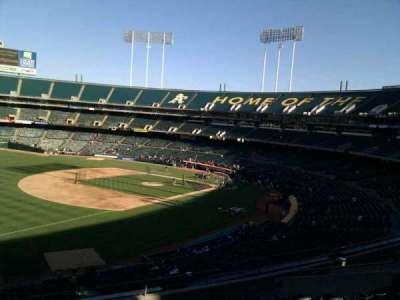 Oakland Alameda Coliseum section 227