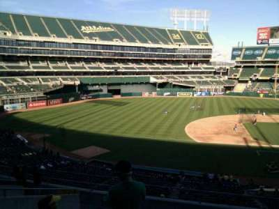 Oakland Alameda Coliseum, section: 223, row: 10, seat: 18