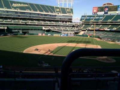 Oakland Alameda Coliseum, section: 221, row: 6, seat: 5