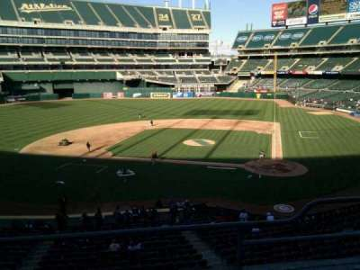 Oakland Alameda Coliseum, section: 220, row: 3, seat: 12