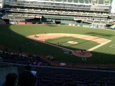 Oakland Alameda Coliseum, section: 218, row: 9, seat: 20