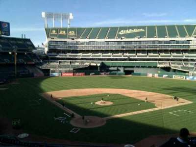 Oakland Alameda Coliseum, section: 216, row: 6, seat: 12