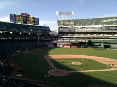 Oakland Alameda Coliseum, section: 215, row: 3, seat: 16