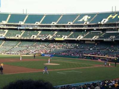 Oakland Alameda Coliseum, section: 126, row: 27, seat: 8