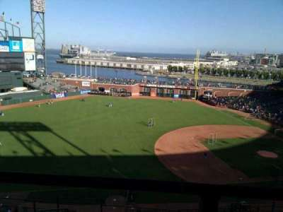 AT&T Park, section: 326, row: 00, seat: 6