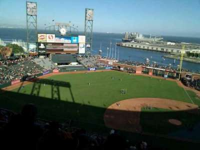 AT&T Park, section: 323, row: 18, seat: 19