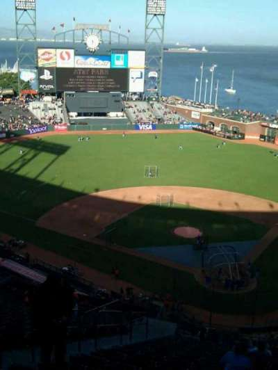 AT&T Park, section: 318, row: 16, seat: 13
