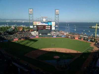 AT&T Park, section: 317, row: 8, seat: 20