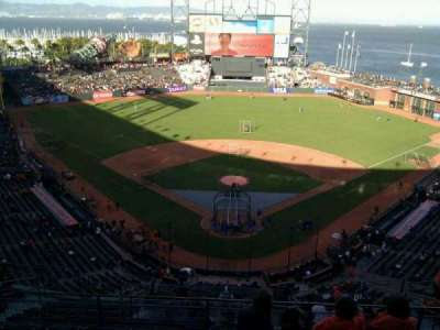 AT&T Park, section: 315, row: 5, seat: 10