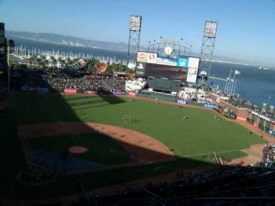 AT&T Park, section: 312, row: 8, seat: 4