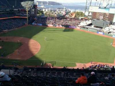 AT&T Park, section: 304, row: 10, seat: 17