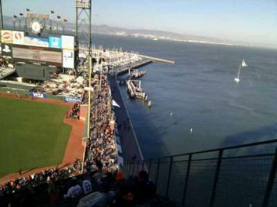 AT&T Park, section: 302, row: 25, seat: 3