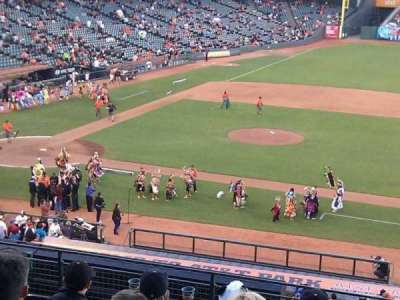 AT&T Park, section: 208, row: g, seat: 8