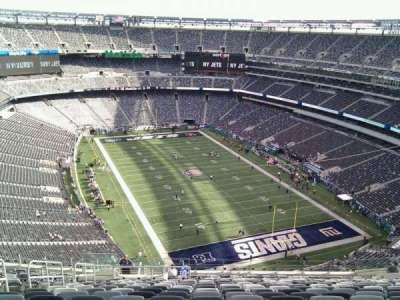MetLife Stadium section 304
