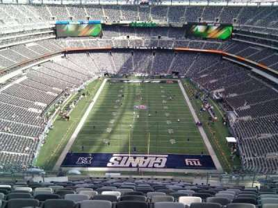 MetLife Stadium section 301