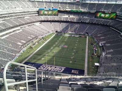 MetLife Stadium  section 350