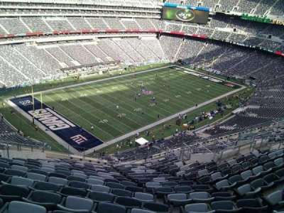 MetLife Stadium, section: 345, row: 21, seat: 22